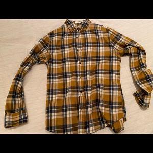 Hawker Rye flannel. Men's medium